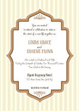 Wedding Invitations - moroccan nites