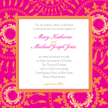 Wedding Invitations - circle of happiness