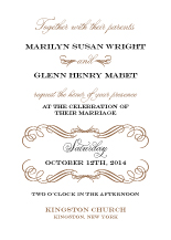 Wedding Invitations - elegance