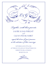 Wedding Invitations - little birdie