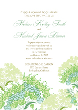 Wedding Invitations - queen annes lace
