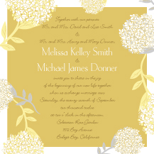Wedding Invitations - meadowsweet