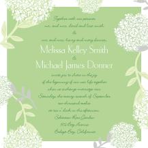 Wedding Invitations - meadowsweet
