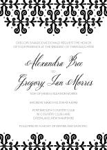 Wedding Invitations - so in love