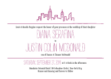 Wedding Invitations - new york love