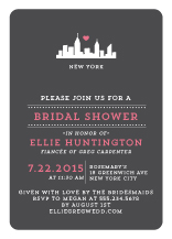 Wedding Shower Invitation - urban love