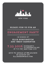 Engagement Party Invitation - urban love
