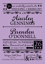Wedding Invitations - love celebration