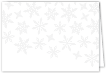 Holiday Cards - white as snow