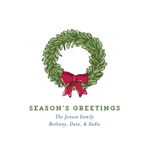 Holiday Cards - botanical holiday