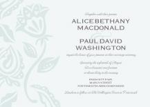 Wedding Invitations - garden