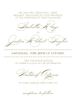 Wedding Invitations - luxe