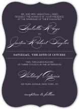 Wedding Invitations - luxe reverse