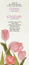 Wedding Invitations - fresh tulips