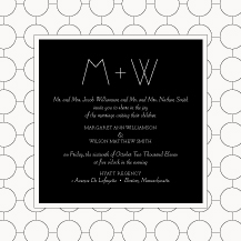 Wedding Invitations - ultra chic