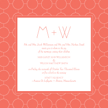 Wedding Invitations - ultra chic reverse