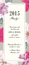 Holiday Party Invitations - poinsettias