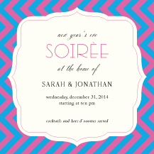 Holiday Party Invitations - dessert
