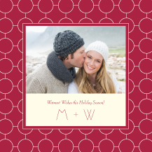 Holiday Cards - ultra chic reverse