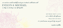 Wedding Invitations - kiku