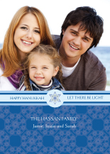 Hanukkah Cards - let there be light hanukkah
