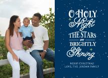 Christmas Cards - o holy night