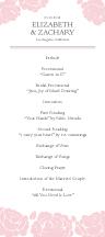 Wedding Program - one sweet love