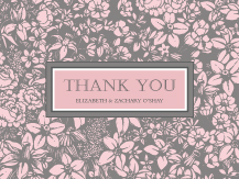 Wedding Thank You Card - one sweet love