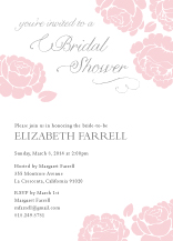 Wedding Shower Invitation - one sweet love