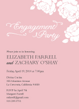 Engagement Party Invitation - one sweet love