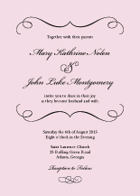 Wedding Invitations - forever & ever