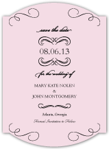 Save the Date Card - forever & ever