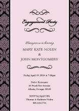Engagement Party Invitation - forever & ever