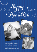 Hanukkah Cards - family album