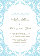 Wedding Invitations - endless love