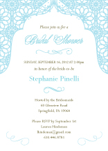 Wedding Shower Invitation - endless love