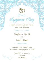 Engagement Party Invitation - endless love