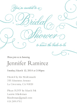 Wedding Shower Invitation - always & forever