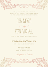 Wedding Invitations - timeless romance