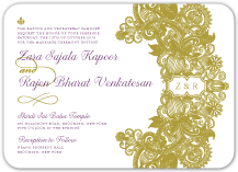 Wedding Invitations - elegant opulence