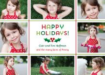 Holiday Cards - holly jolly