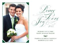 Holiday Cards - peace love joy
