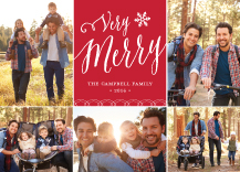 Christmas Cards - very merry