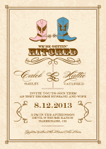 Wedding Invitations - gettin hitched