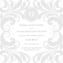 Wedding Invitations - graceful