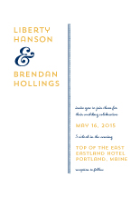 Wedding Invitations - linear