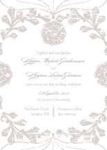 Wedding Invitations - vintage nouveau