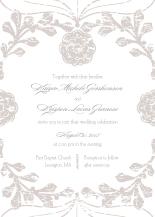 Wedding Invitations - vintage nouveau