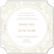 Wedding Invitations - deco grand