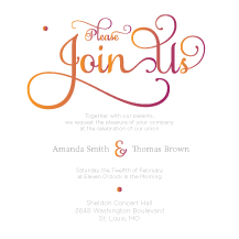 Wedding Invitations - in harmony
